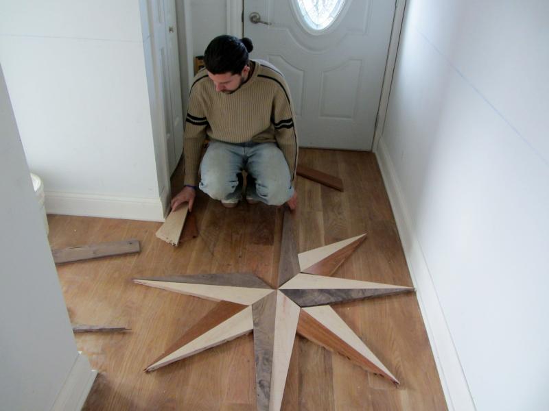 ... Medallion Floor Inlay In Oak Park IL World Flooring U0026 More.jps ...